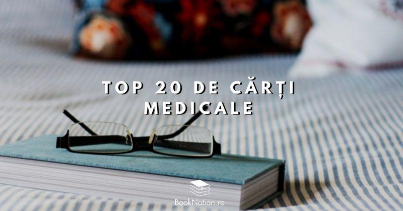 Top 20 de cărți medicale care îți pot fi de folos