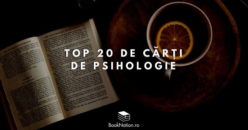 Top 20 de cărți care îți vor face cunoștință cu psihologia