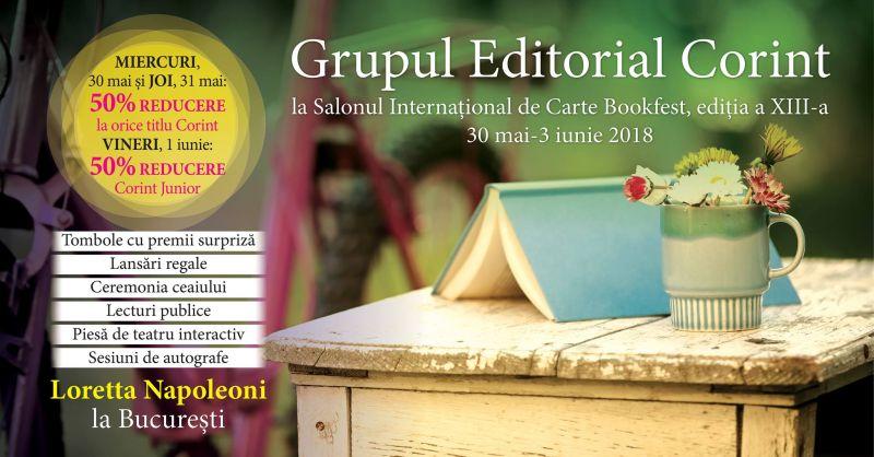 Editura Corint la Bookfest