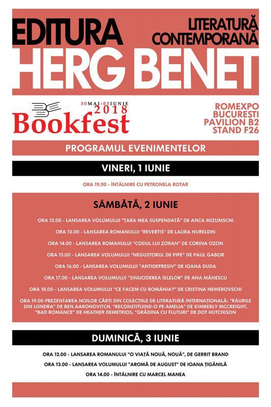 Herg Benet la Bookfest