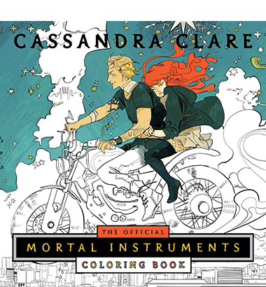 "Recenzie ""The Official Mortal Instruments Colouring Book""de Cassandra Clare și Cassandra Jean"