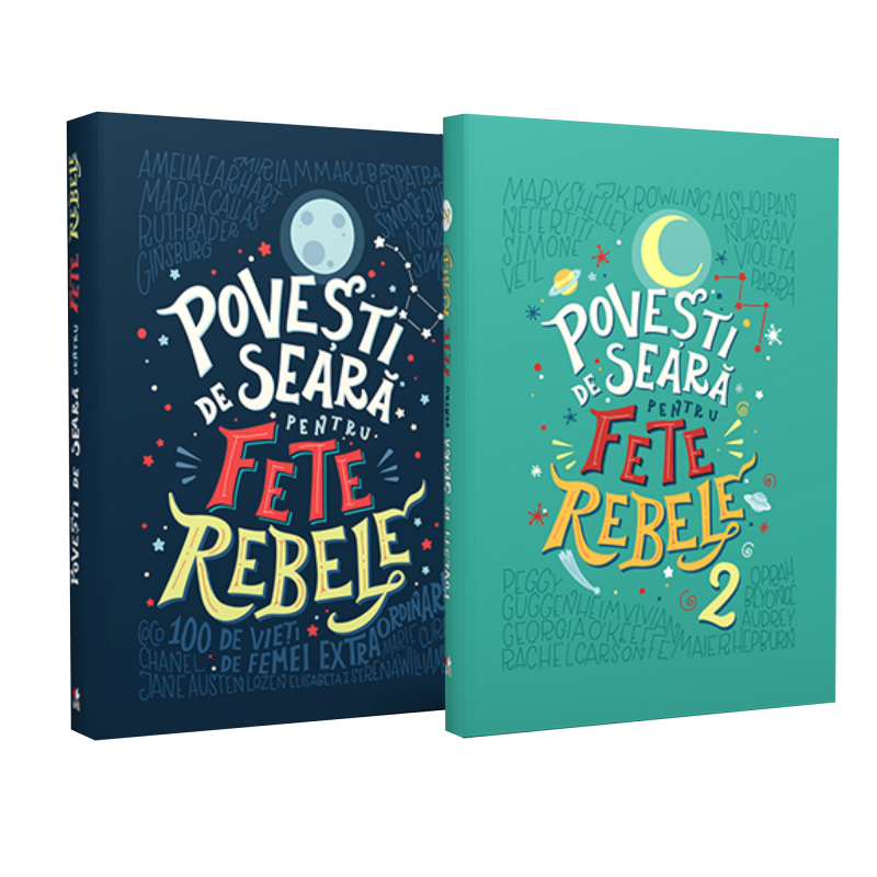 """Recenzie """"Povești de Seară pentru Fete Rebele"""" de Elena Favilli și Francesca Cavallo"""