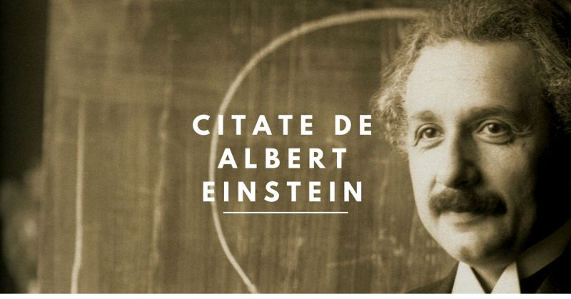 citate de albert einstein