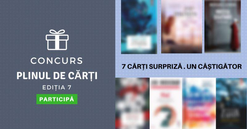 """Premiile concursului """"Plinul de cărți"""" ed. a 7-a"""