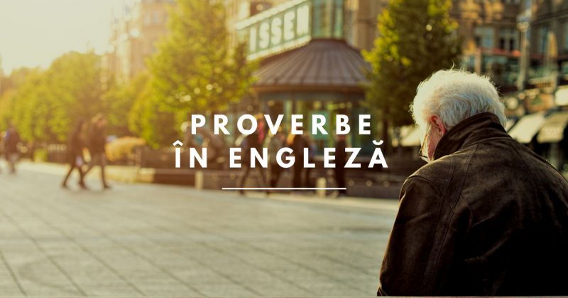 proverbe in engleza