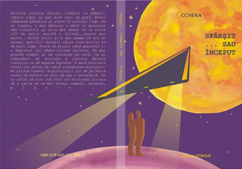 """Interviu cu Camelia Chera, autoarea cărții """"Sfârșit sau început"""""""