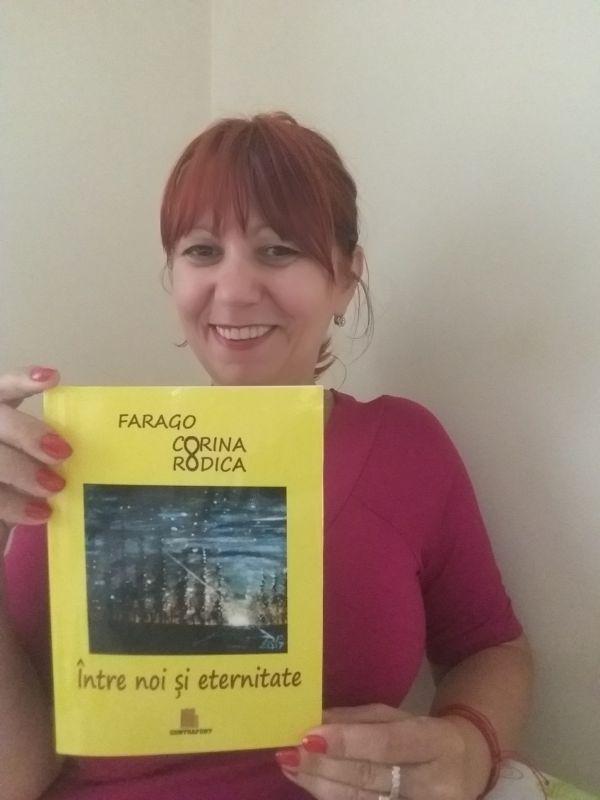 """Interviu cu FARAGO CORINA RODICA, autoarea cărții """"Între noi și eternitate"""""""