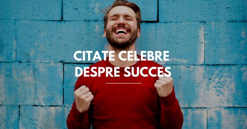 citate celebre despre succes