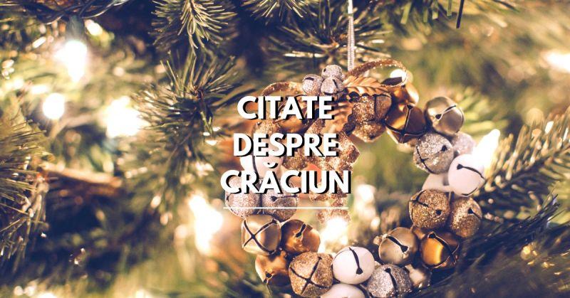 Citate despre Crăciun