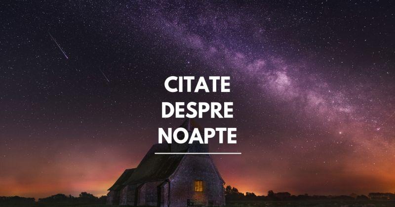 citate despre noapte