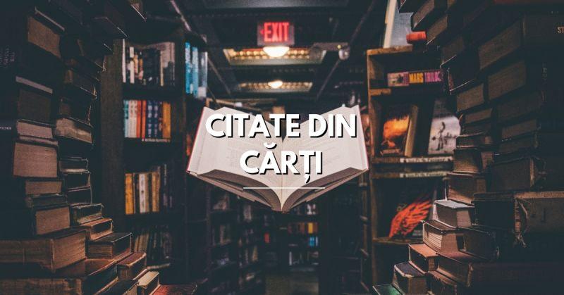 Citate din Cărți care te vor inspira și te vor pune pe gânduri