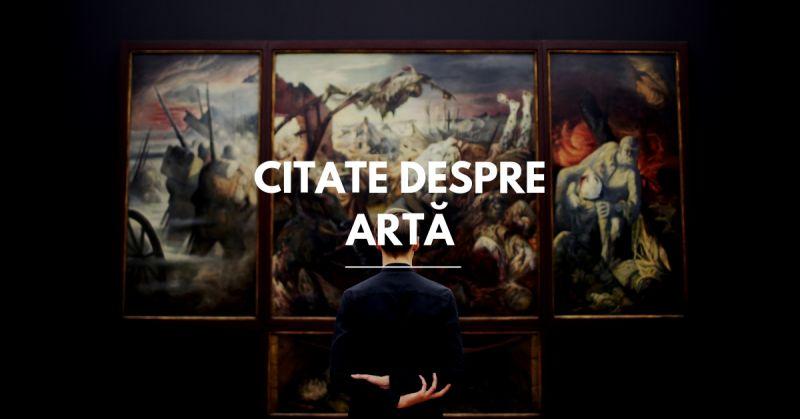 citate despre arta