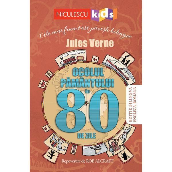 """Recenzie """"Ocolul pământului în 80 de zile"""" de Jules Verne"""