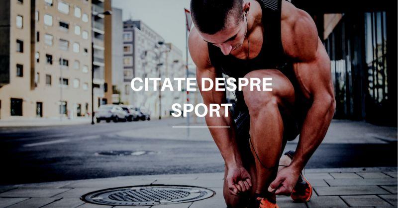 Citate despre Sport