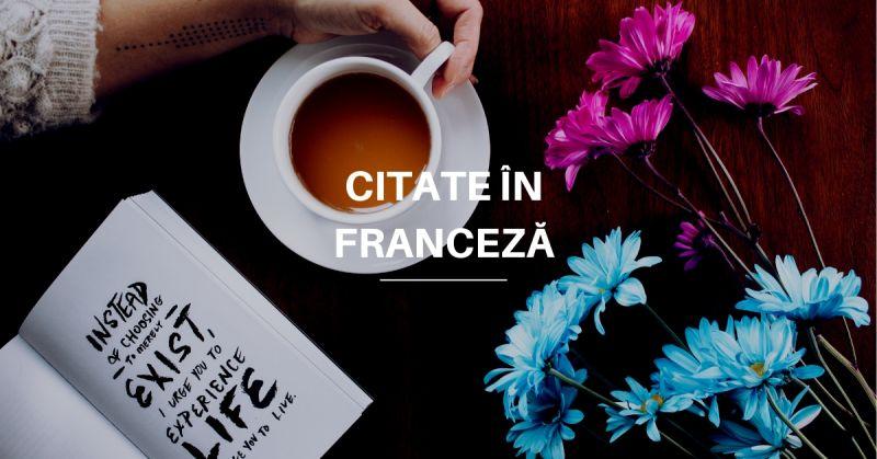 Citate în Franceză