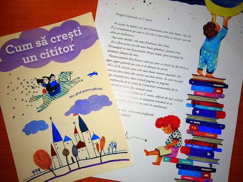 Cum să crești un Cititor (cu C mare) și cum poți influența un copil să citească