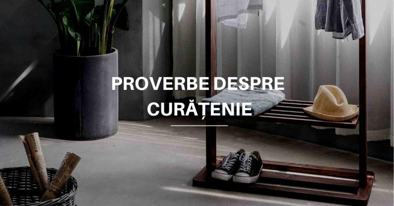 Proverbe despre Curățenie