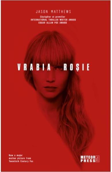 """Recenzie """"Vrabia rosie"""" de Jason Matthews"""