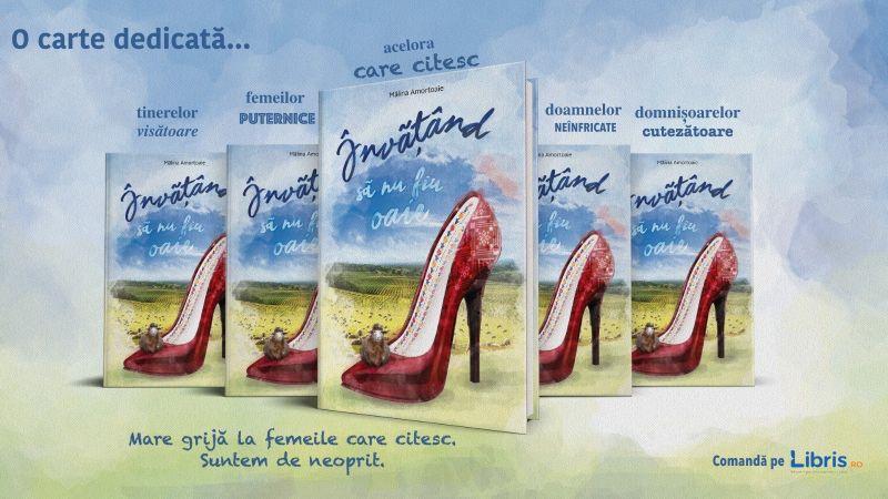 """Interviu cu Mălina Amortoaie, autoarea cărții """"Învățând să nu fiu oaie''"""