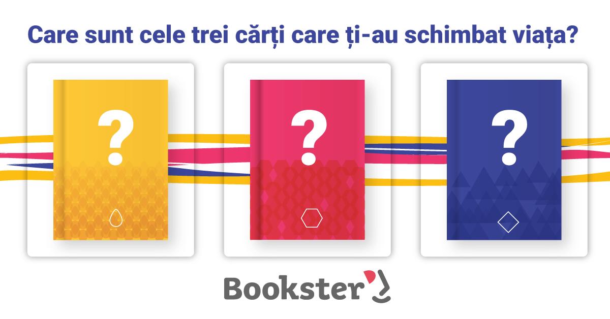 """Provocarea Bookster: Booknation """"Joacă leapșa de lectură"""""""