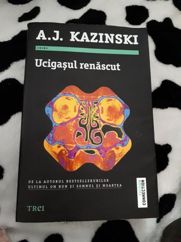 """Recenzie """"Ucigașul renăscut"""" de A.J. Kazinski"""
