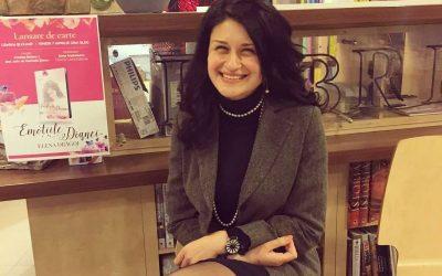 """Interviu cu Elena Dragoi, autoarea cărții """"Poveștile Dianei"""""""