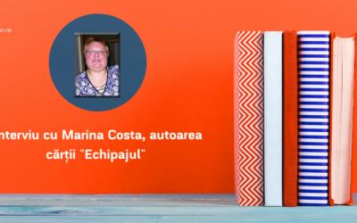 """Interviu cu Marina Costa, autoarea cărții """"Echipajul"""""""