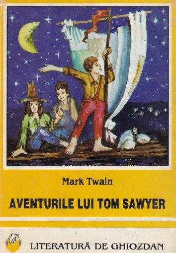 Aventurile lui Tom Sawyer de Mark Twain