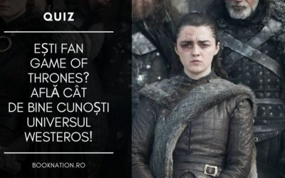 Quiz: Cât de bine cunoști universul Game of Thrones?