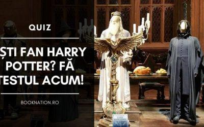 Ești fan Harry Potter? Fă testul acum!