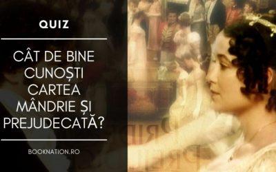 Quiz: Mândrie și prejudecată – Cât de bine cunoști cartea lui Jane Austen?