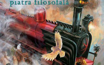 """Recenzie """"Harry Potter și piatra filosofală – ediție ilustrată"""" de J.K. Rowling"""