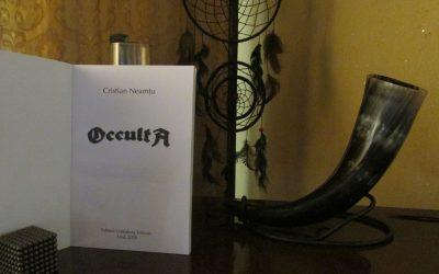 """Interviu cu Cristian Neamtu, autorul cărții """"Occulta"""""""
