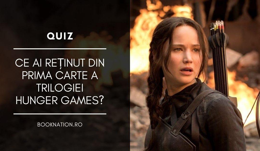 Quiz: Ce ai reținut din prima carte a trilogiei Hunger Games?