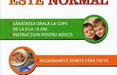 "Recenzie ""Sănătos este normal"" de Iulia Stoker – Corbu"