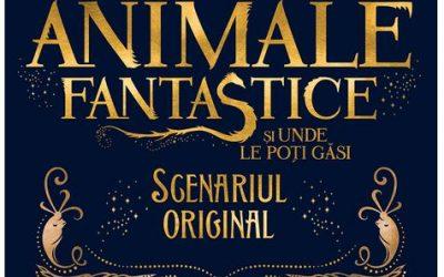 """Recenzie """"Animale fantastice și unde le poți găsi – scenariul original – de J.K. Rowling"""