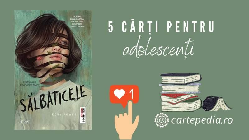 5 cărți recomandate pentru adolescenți