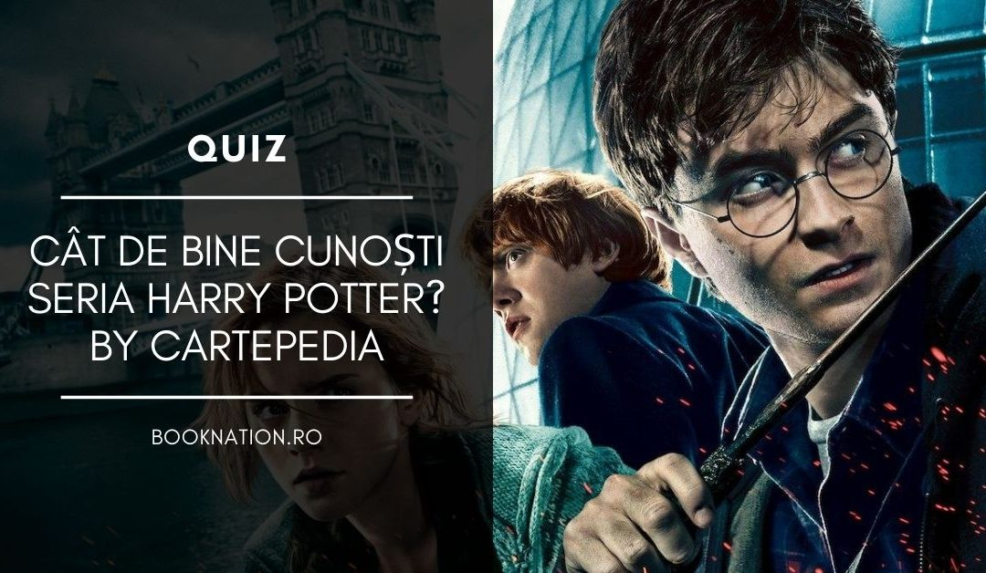 Quiz: Harry Potter by Cartepedia