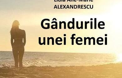 """Recenzie """"Gândurile unei femei"""" de Lidia Ane-Marie Alexandrescu"""