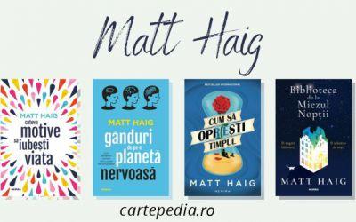 4 Cărți de Matt Haig pe care să le citești toamna aceasta