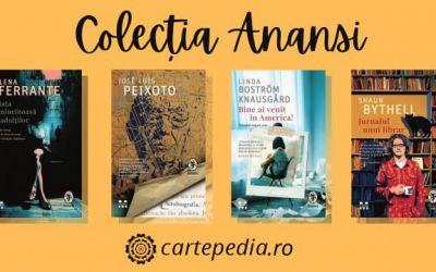 Colecția Anansi – cărți de care ai nevoie în bibliotecă