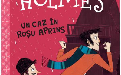 "Recenzie ""Sherlock Holmes – Un caz în roșu aprins"" de Stephanie Baudet"