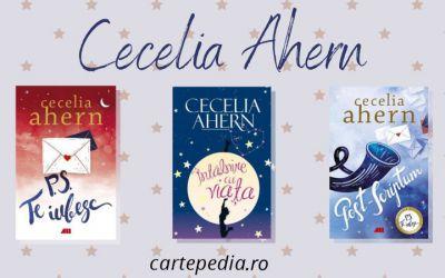 Cărțile romantice ale autoarei Ceceliei Ahern