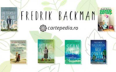 Minunatele cărți scrise de Fredrik Backman