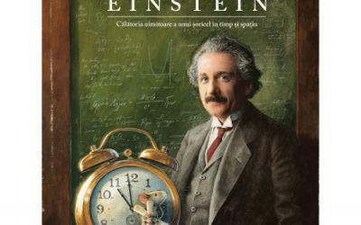 """Recenzie """"Einstein. Călătoria uimitoare a unui șoricel în timp și spațiu"""" de Torben Kuhlamann"""