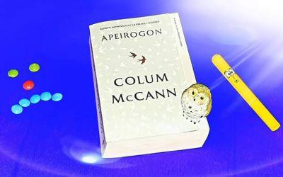 """Recenzie """"Apeirogon"""" de Colum McCann"""