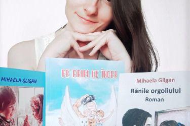 """Interviu cu Gligan Mihaela, autoarea cărții """"Pe aripi de înger"""""""