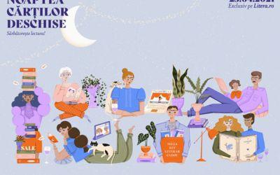 Sărbătorește lectura pe Litera.ro, la o nouă ediție Noaptea Cărților Deschise