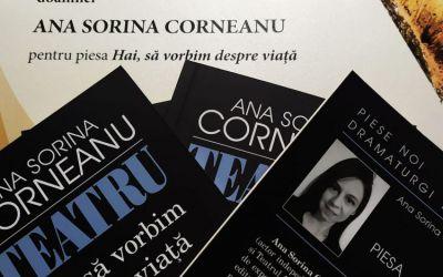 """Interviu cu Sorina Corneanu, autoarea cărții """"Hai să vorbim despre viaţă"""""""