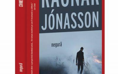 """Recenzie """"Negură"""" de Ragnar Jónasson"""